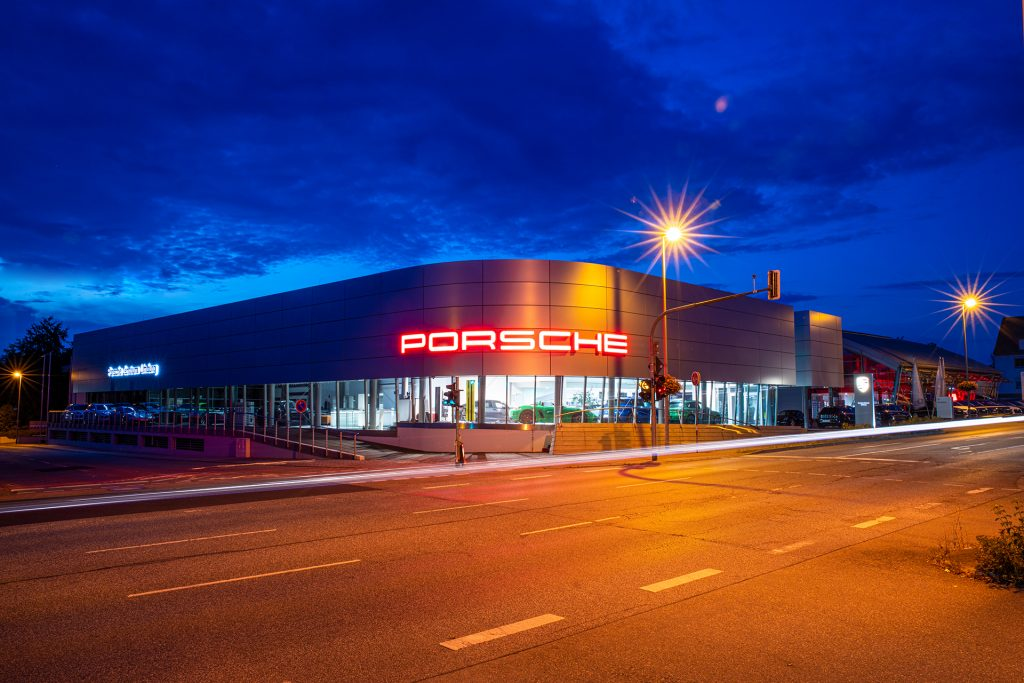 Porsche Fotoshooting