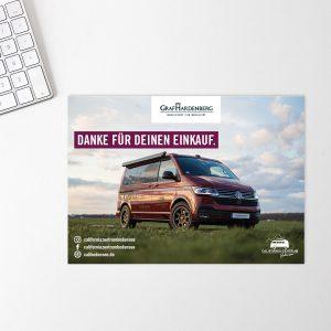 HNMC Grafikdesign Postkarte